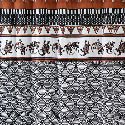 Avanti Acoma Cotton Shower Curtain