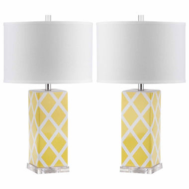 jcpenney.com | Ira Garden Lattice Table Lamp- Set of 2