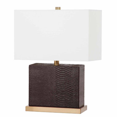 jcpenney.com | Saurian Faux Snakeskin Table Lamp