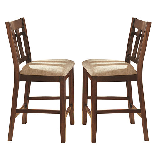 Steve Silver Co Beckett 2-pc. Upholstered Bar Stool
