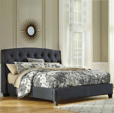 jcpenney.com | Signature Design by Ashley® Kasidon King Button Tufted Upholstered Bed