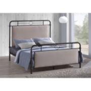 Baxton Studio Jina Upholstered Bed