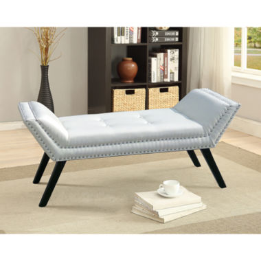 jcpenney.com | Baxton Studio Tamblin Faux-Leather Upholstered Bench