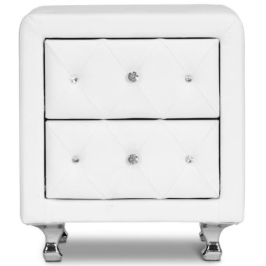 jcpenney.com | Baxton Studio Stella Crystal Tufted Upholstered Modern Nightstand