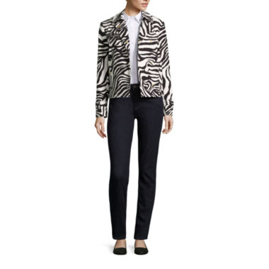 jcpenney.com | Liz Claiborne® Trench Coat, Button Front Shirt or Skinny Jeans