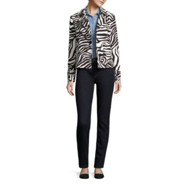 jcpenney.com | Liz Claiborne® Trench Coat, Denim Shirt or Skinny Jeans