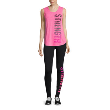 jcpenney.com | Xersion™ Studio Muscle Tank Top or Graphic Leggings