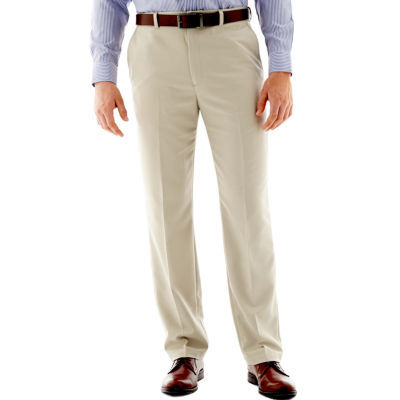 267f6b75 Haggar® Cool 18® Classic-Fit Flat-Front Pants - JCPenney