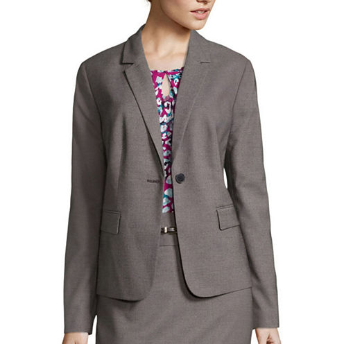 Liz Claiborne® Long-Sleeve Suiting Blazer - Tall
