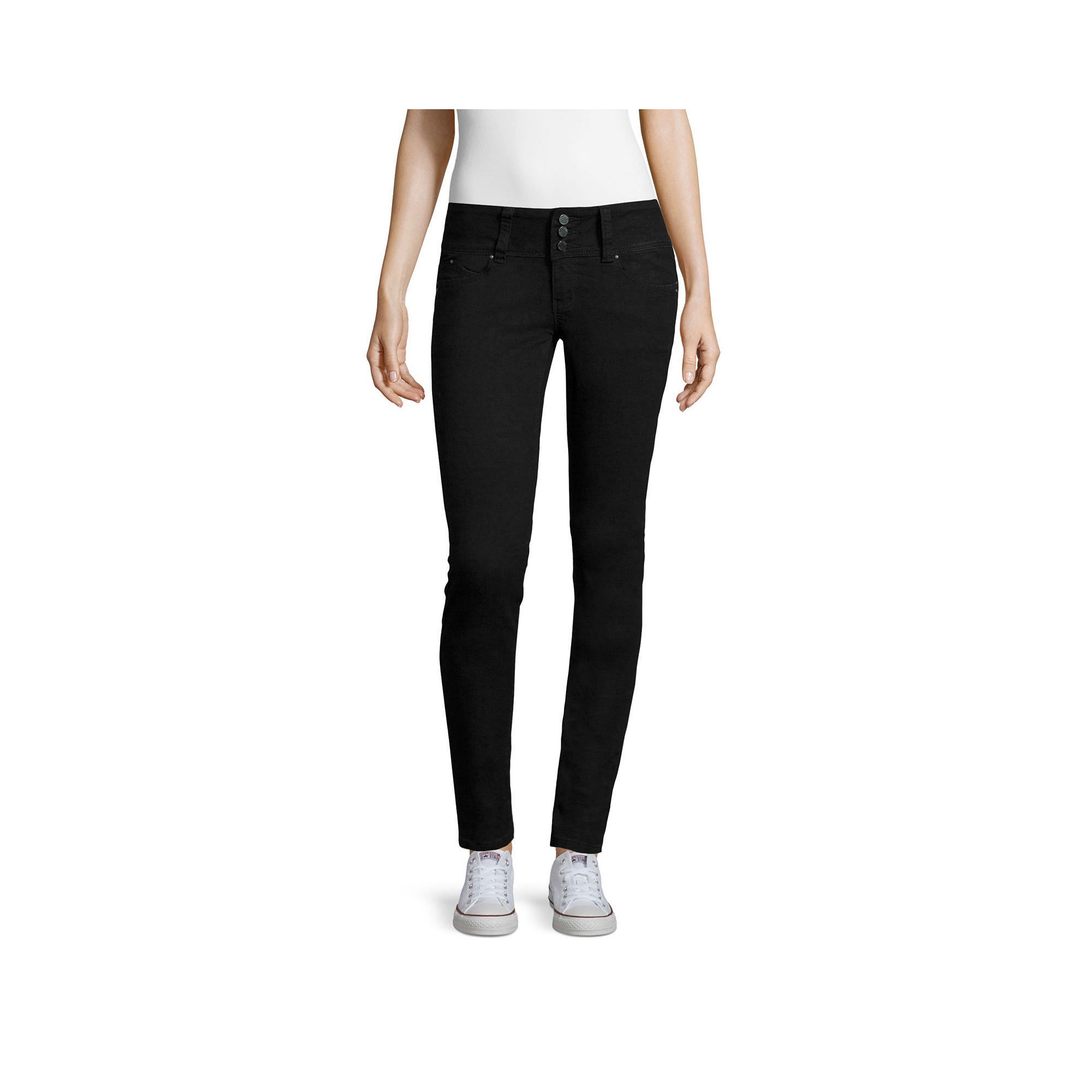 YMI Wanna Betta Butt Skinny Jeans - Juniors