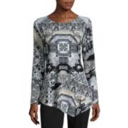 Unity™ Print Bell-Sleeve Tunic