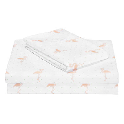 Frank and Lulu Flamingo Sheet Set