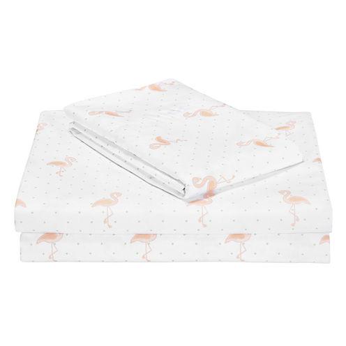 Frank and Lulu Flamingo Sheet Set