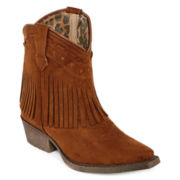 Laredo®  Gingersnap Girls Western Booties - Little Kids