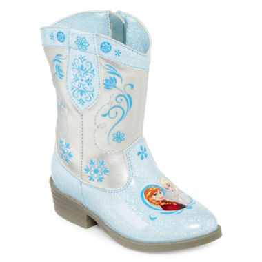 jcpenney.com | Disney® Frozen Girls Cowboy Boots - Toddler