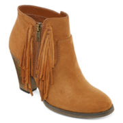 Mia® Lindsie Womens Ankle Booties