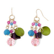 Mixit™ Multicolor Bead Dangle Cluster Earrings