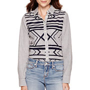 Stylus™ Long-Sleeve Relaxed-Fit Essential Shirt - Tall