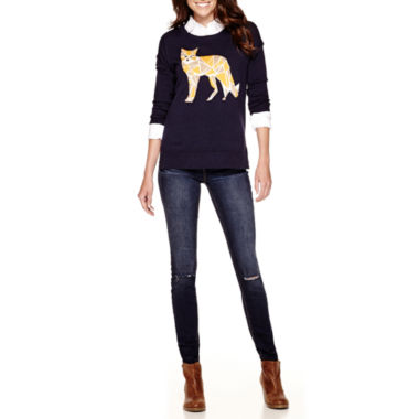 jcpenney.com | Stylus™ Intarsia Sweater, Relaxed-Fit Shirt or Skinny Jeans - Tall