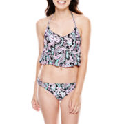 Arizona Halterkini Swim Top or Hipster Bottoms - Juniors