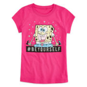 Spongebob Squarepants Graphic Tee - Girls 7-16