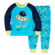 Luvgear Space 2-pc. Cotton Pajama Set - Toddler Boys 2T-4T