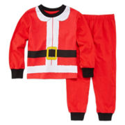 Luvgear Santa 2-pc. Cotton Pajama Set - Toddler Boys 2T-4T