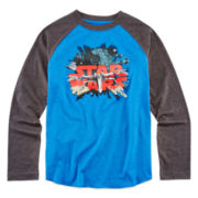 Star Wars™ Long-Sleeve Star Explore Tee - Boys 8-20