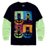 Batman Long-Sleeve Layered Tee - Boys 8-20