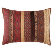 Home Expressions™ Paisley Stripe Pillow Sham