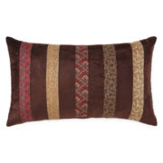 Home Expressions™ Paisley Stripe Oblong Decorative Pillow