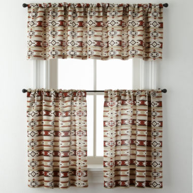 jcpenney.com | New Mexico Rod-Pocket Kitchen Curtains