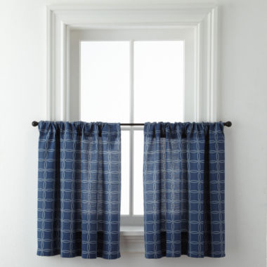 jcpenney.com | Rope Lattice Rod-Pocket Window Tiers