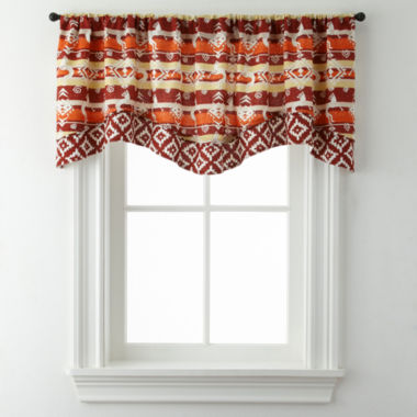 jcpenney.com | Kokopeli Double Layer Rod-Pocket Valance
