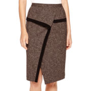 Worthington® Drape Pencil Skirt