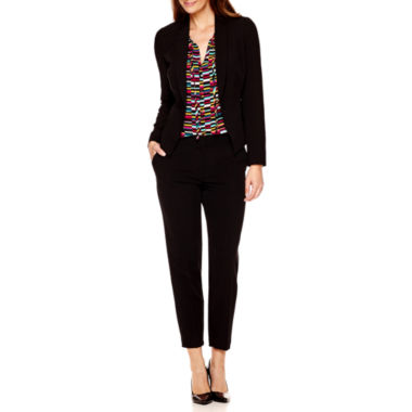 jcpenney.com | Worthington® Suit Jacket, Tie-Neck Blouse or Career Ankle Pants