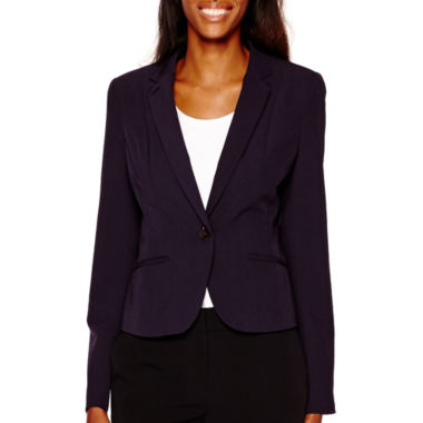 jcpenney.com | Worthington® Long-Sleeve One-Button Jacket - Tall