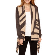 Worthington® Long-Sleeve Flyaway Sweater