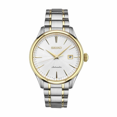 jcpenney.com | Seiko Mens Two Tone Bracelet Watch-Srp704