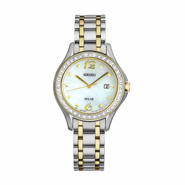 jcpenney.com | Seiko Womens Two Tone Bracelet Watch-Sut312