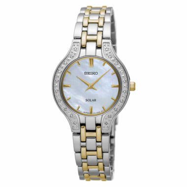 jcpenney.com | Seiko Womens Two Tone Bracelet Watch-Sup335