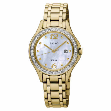 jcpenney.com | Seiko Womens Gold Tone Bracelet Watch-Sut314