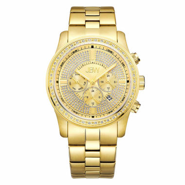 jcpenney.com | JBW Men's Vanquish .42 ctw Diamond 18k gold-plated stainless-steel Watch J6337B