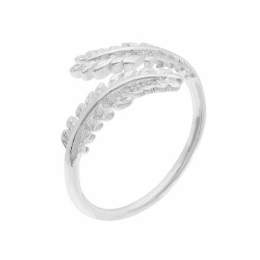 jcpenney.com | Sparkle Allure Womens Silver Over Brass Cocktail Ring