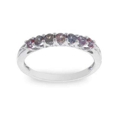 jcpenney.com | Womens Diamond Accent Round Purple 10K Gold Stackable Ring