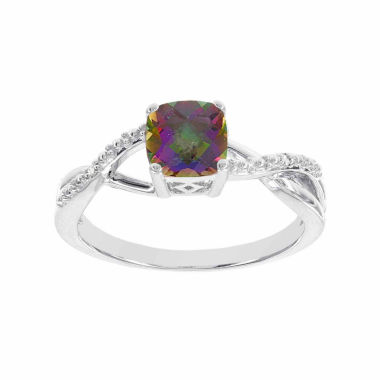 jcpenney.com | Diamond Accent Multi Color Mystic Fire Topaz Cocktail Ring