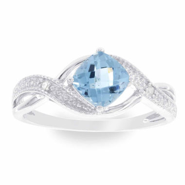 jcpenney.com | Diamond Accent Blue Topaz Cocktail Ring