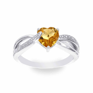 jcpenney.com | Diamond Accent Orange Citrine Cocktail Ring