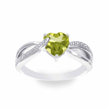 jcpenney.com | Diamond Accent Green Peridot Cocktail Ring