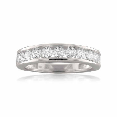 jcpenney.com | Womens 1 CT. T.W. White Diamond 18K Gold Wedding Band